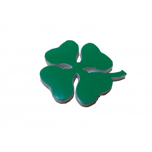 Cloverleaf 35mm Badge